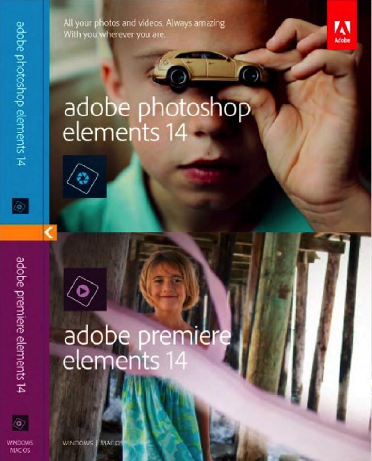 Adobe Photoshop Elements & Premier Elements 14