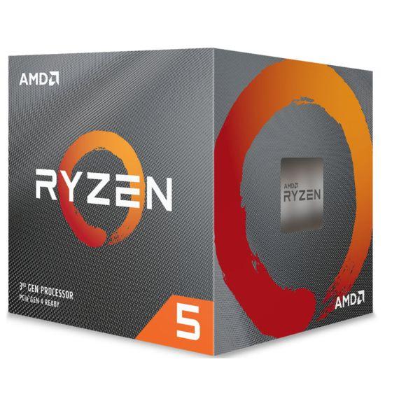 Kit d'évolution PC - processeur AMD Ryzen 5 3600 + carte-mère GigaByte B450 Aorus Elite + kit RAM Corsair Vengeance LPX DDR4-3000 CL15 (2x8)
