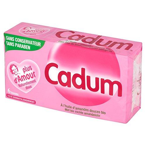[Amazon Pantry] Lot de 6 savons à l'huile d'amandes douces Bio Cadum - 6 x100 g