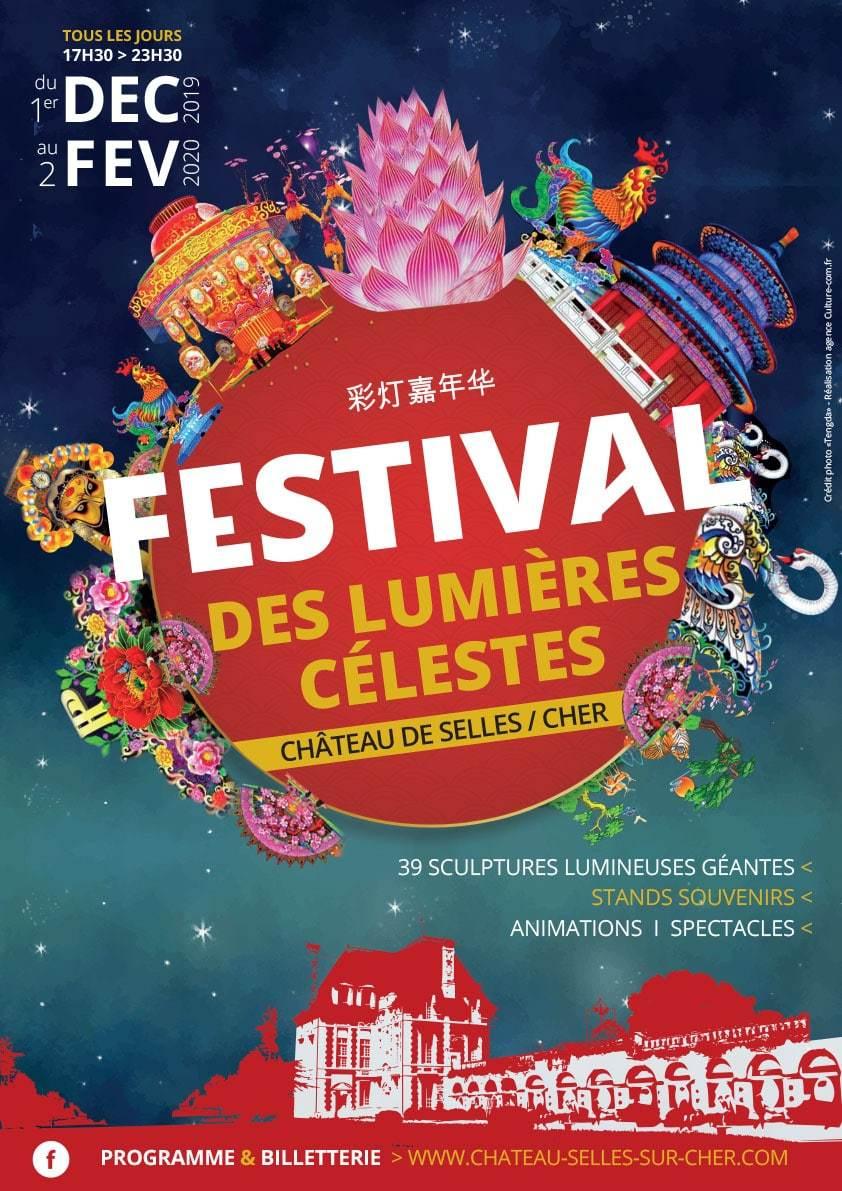 Festival des lumières célestes à Selles-sur-Cher (41)