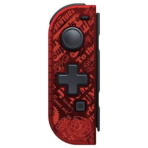 Manette Joycon Gauche Hori pour Nintendo Switch avec croix directionnelle - Mario (pas de fonction sans-fil)