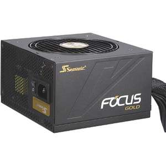 Alimentation PC semi-modulaire Seasonic Focus Gold 650 - 80+ Gold, 650 W