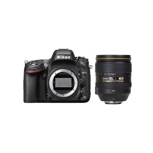 Kit Nikon plein format : Appareil Photo Numérique Reflex Nikon D610 + Objectif Nikkor 24-120/4 G ED VR