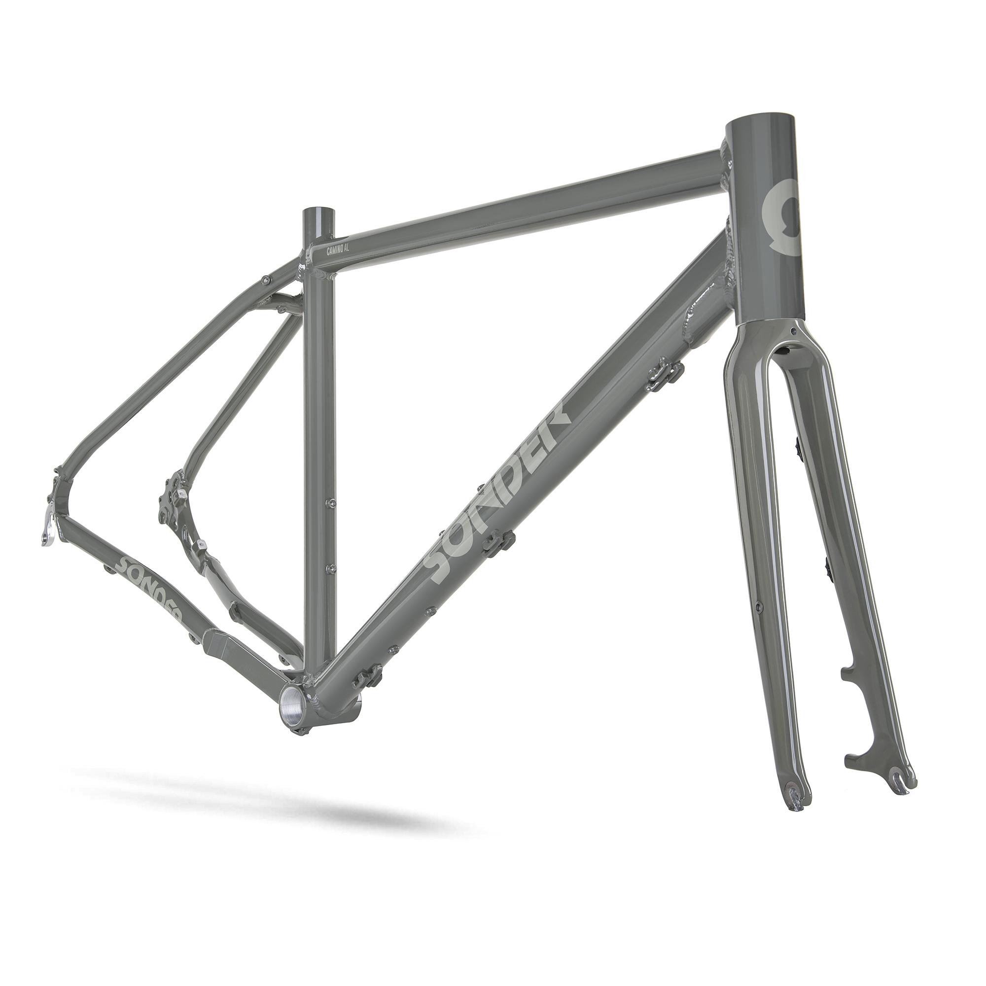 Cadre vélo Gravel Sonder Camino Al - coloris Chilli (taille XL) - Alpkit.com