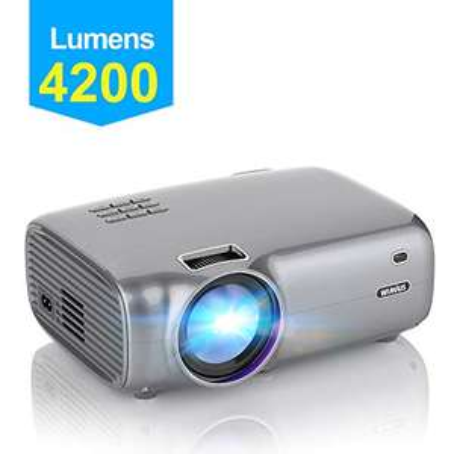Vidéoprojecteur Portable WiMiUS - 720P, 4200 Lumens (vendeur tiers)