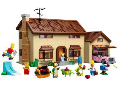 Maison des Simpson + Gingerbread House