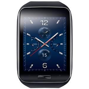 Montre GPS  Samsung Gear S Noir/Bleu