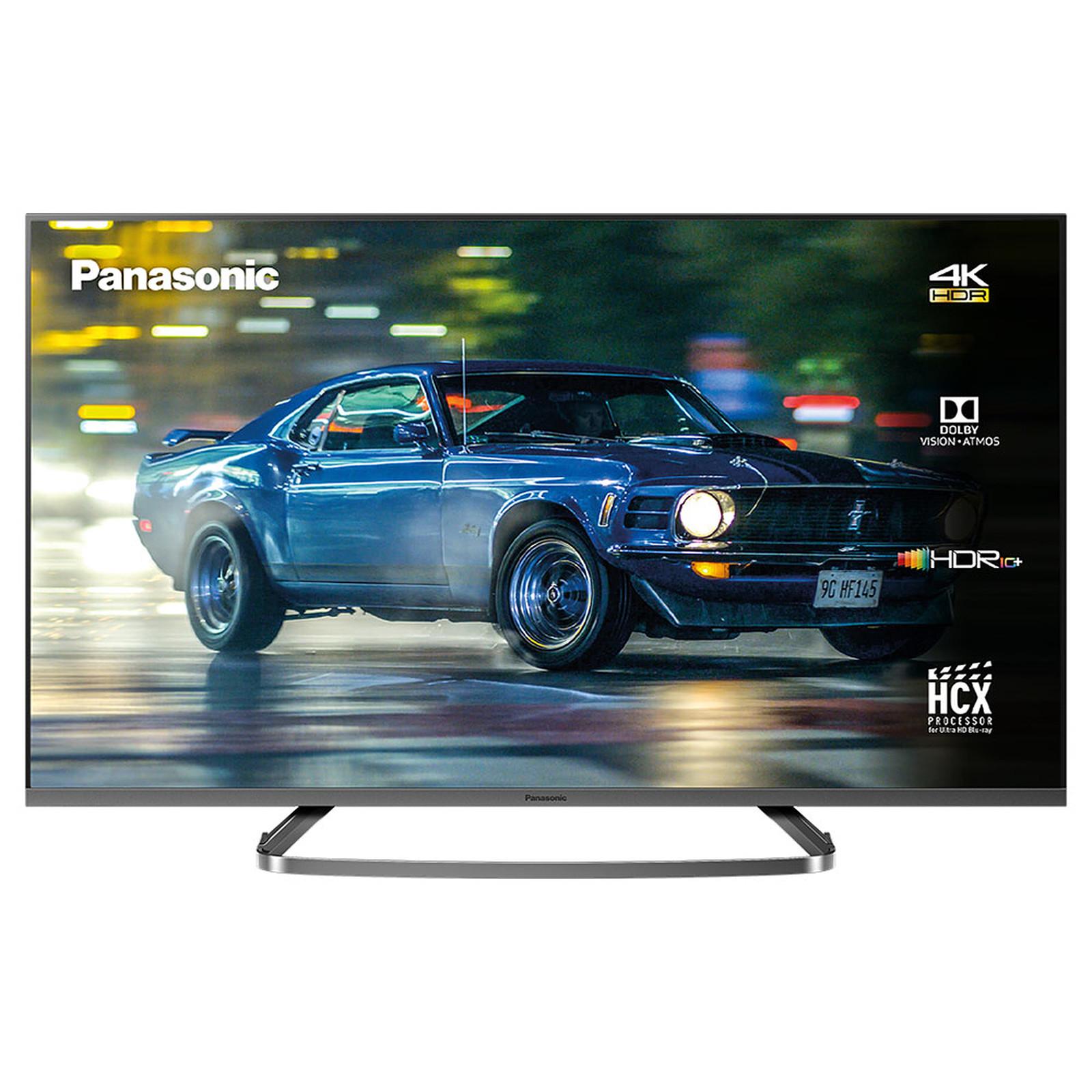 "TV 58"" Panasonic TX-58GX830E - LED, 4K UHD, HDR 10+, Dolby Vision & Atmos, 1800 Hz BMR, Smart TV (Compatible Alexa et Google Assistant)"