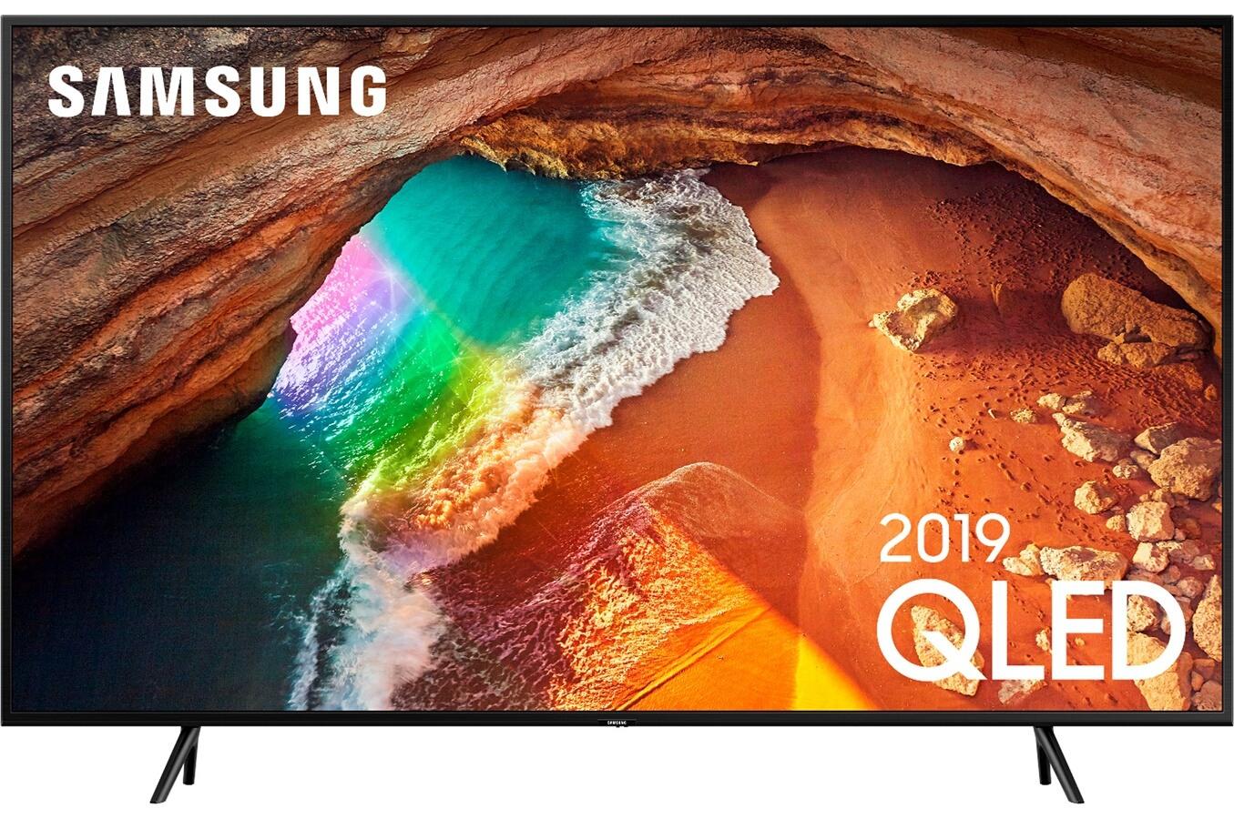 """TV QLED 75"""" Samsung QE75Q60R - 4K, 200Hz Motion Rate, 3000PQI, HDR10+, HLG (Via ODR de 400€)"""