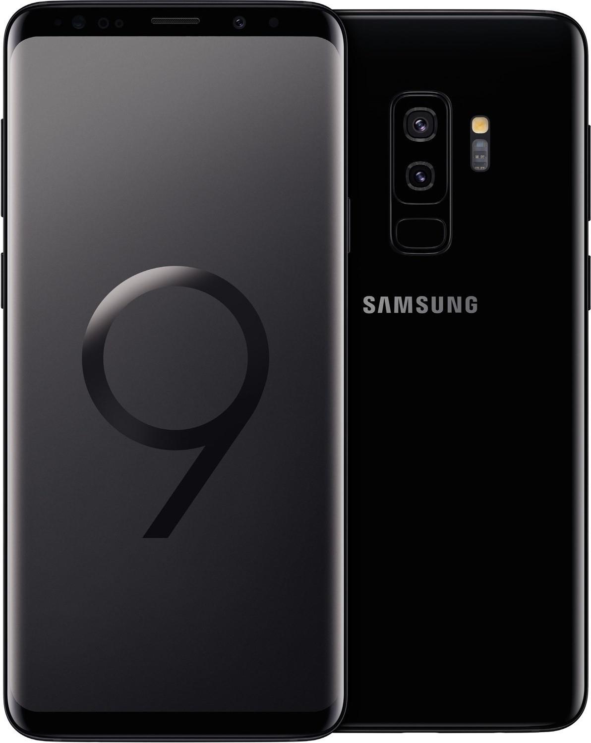"""Smartphone 6.2"""" Samsung Galaxy S9+ (WQHD+, Exynos 9810, 6 Go de RAM, 64 Go, différents coloris) - reconditionné"""