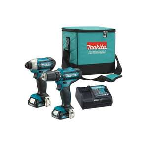 10% de réduction des 80€ via l'application - Ex: Pack Makita perceuse + visseuse a choc à 116,99€