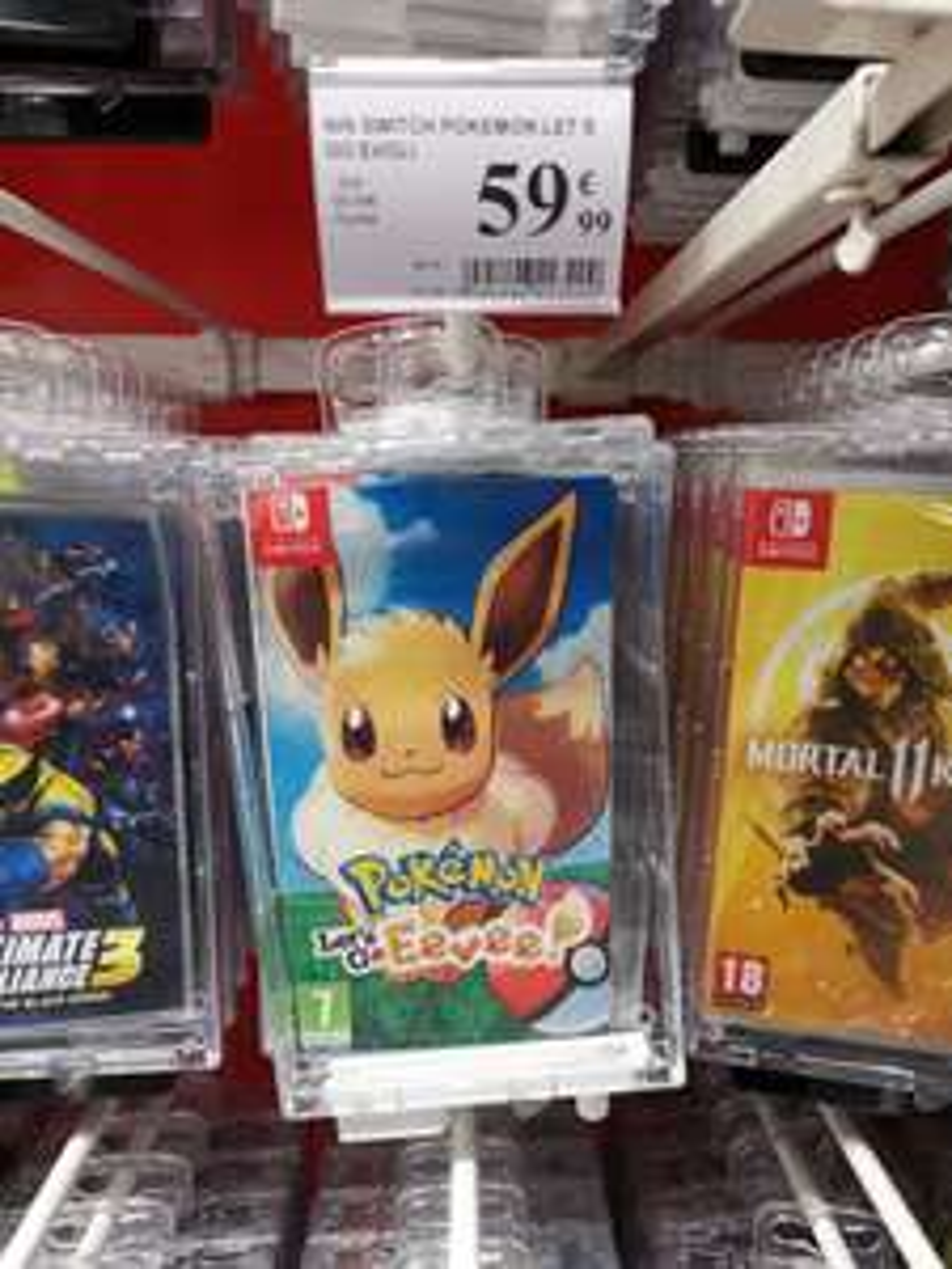 Pokémon Let's Go Evoli sur Nintendo Switch - Fontenay sous bois (94)