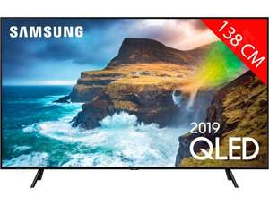"""TV QLED 55"""" Samsung QE55Q70R (2019) - UHD 4K, HDR, Smart TV (via ODR de 200€)"""