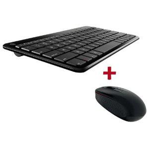 Clavier bluetooth azerty et souris sans fil Motorola / Port inclus