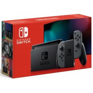 Console Nintendo Switch 2019 avec paire de Joy-Con Néon ou Gris (via 30 € sur la carte fidélité)