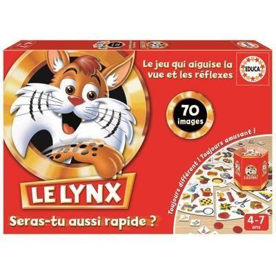 Jeu de Société Éducatif - Le Lynx 70 Images