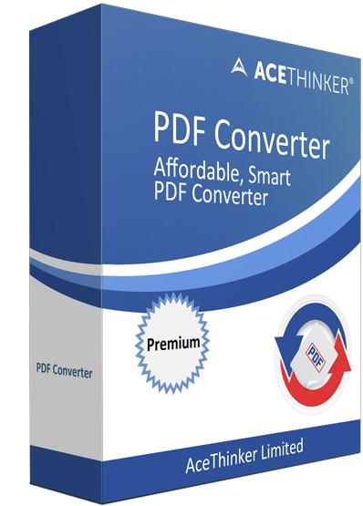 Logiciel Acethinker PDF Converter PRO - utilitaires PDF Gratuit, Licence 1 an (Dématérialisé)