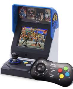 Console Neo-Geo Mini HD International + Manette Noire Neo Geo