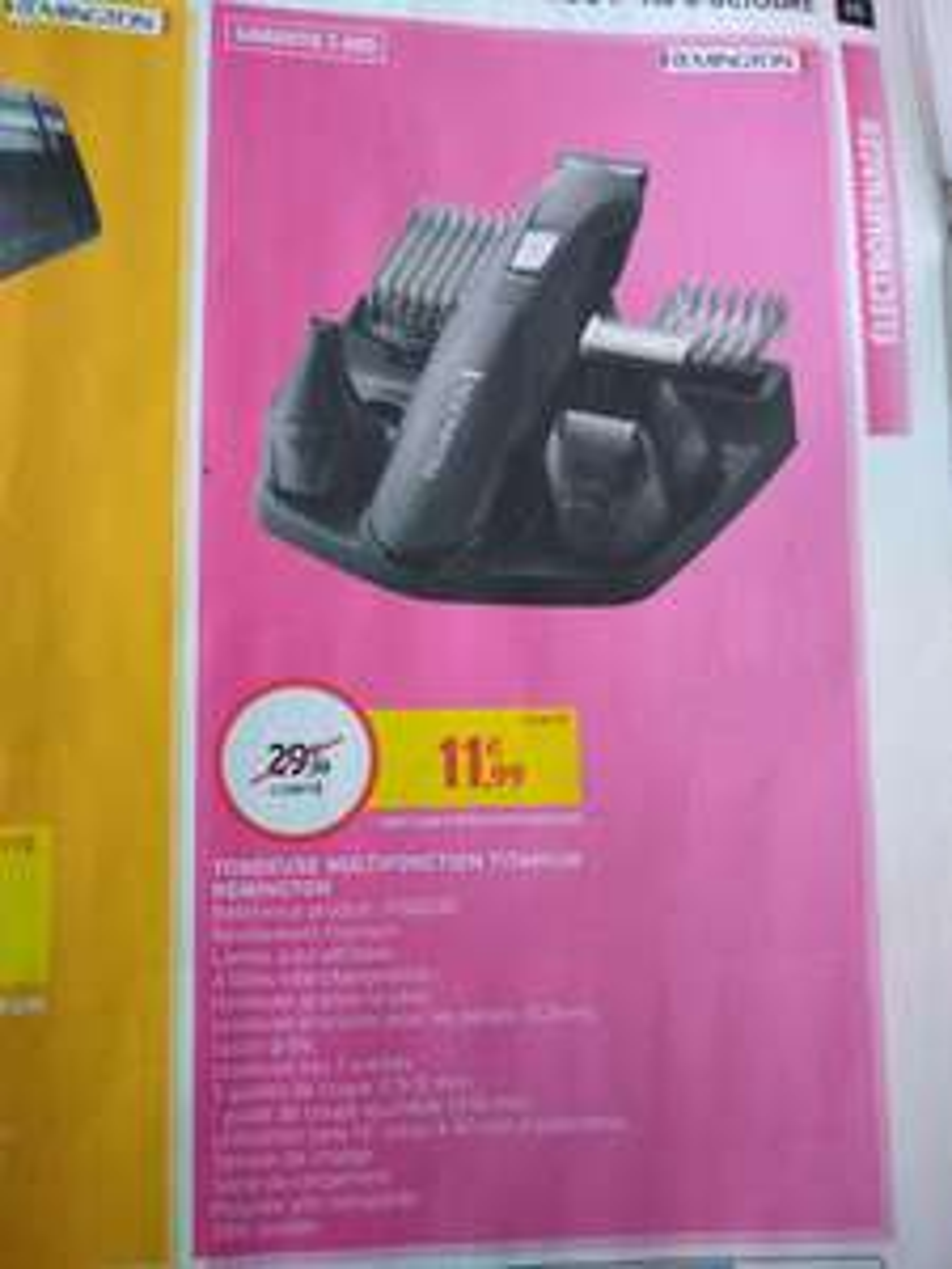 Tondeuse multifonction Titanium Remington PG6030