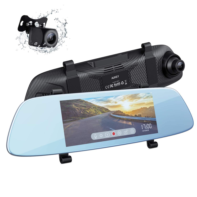 Camera de voiture Aukey DRA2 - Frontale 1080P et Arrière 720P (vendeur tiers)