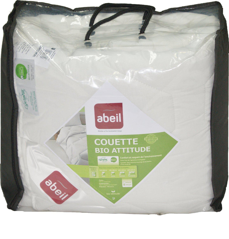 Couette Bio Attitude Abeil 15000000529 - Coton Blanc (200 x 200 cm)