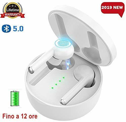 Ecouteurs sans fil Touch Difee - Bluetooth 5 (vendeur tiers)