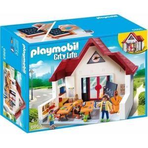 Jouet Playmobil 6865 City Life - Ecole avec Salle de Classe