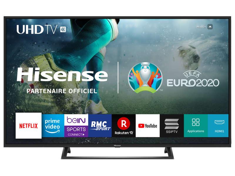 """TV Full LED 50"""" Hisense H50B7300 - UHD 4K, Dalle VA, HDR, Smart TV (+ 99,99€ en Fidélité via Confo+)"""