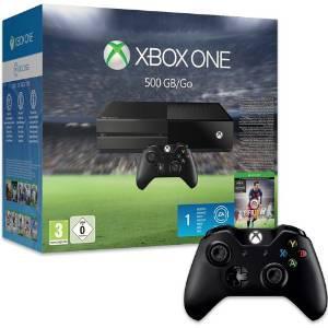 Pack console Xbox One + Fifa 16 + 2ème manette sans fil