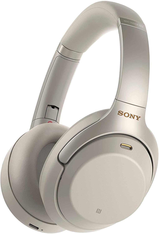 Casque audio sans fil à réduction de bruit Sony WH-1000XM3