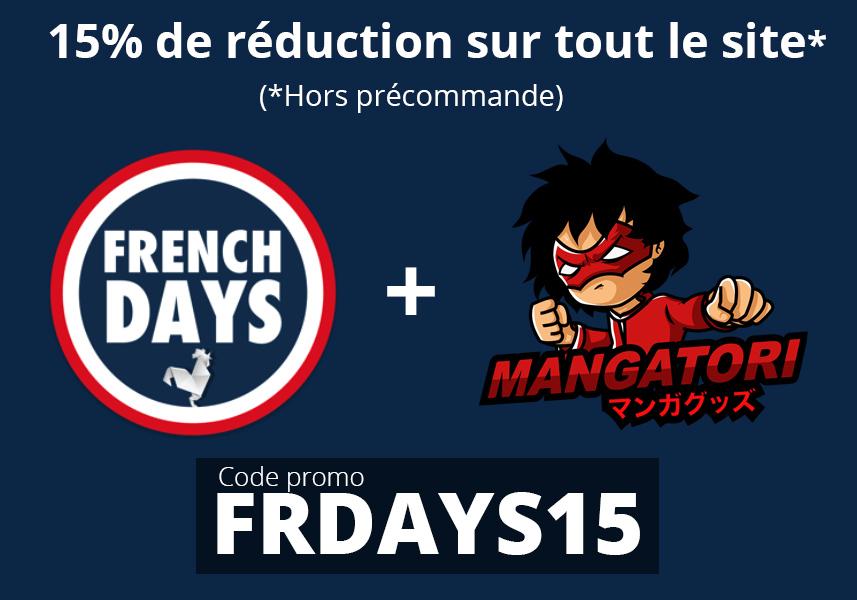 15% de réduction sur tout le site (mangatori.fr)