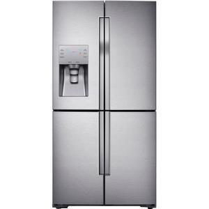 Réfrigérateur américain Samsung RF56J9040SR - Inox, 564L (361 + 203 L), Froid ventilé-A+, L 90,8 x H 182,5 cm (Via ODR de 250€)