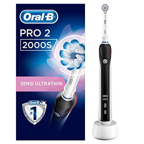 Brosse à Dents Electrique Oral-B PRO 2 2000S (Via 38,15€ sur Carte de Fidélité + ODR)