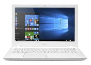 "PC Portable 15"" Acer Aspire E5-573G-552T Blanc - Intel i5-5200U, 6 Go de ram, 1 To, GeForce 920M"
