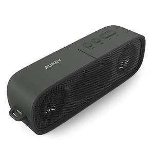 Enceinte portable Aukey SK-M7 - 2x3W, Bluetooth 4.1, Noir