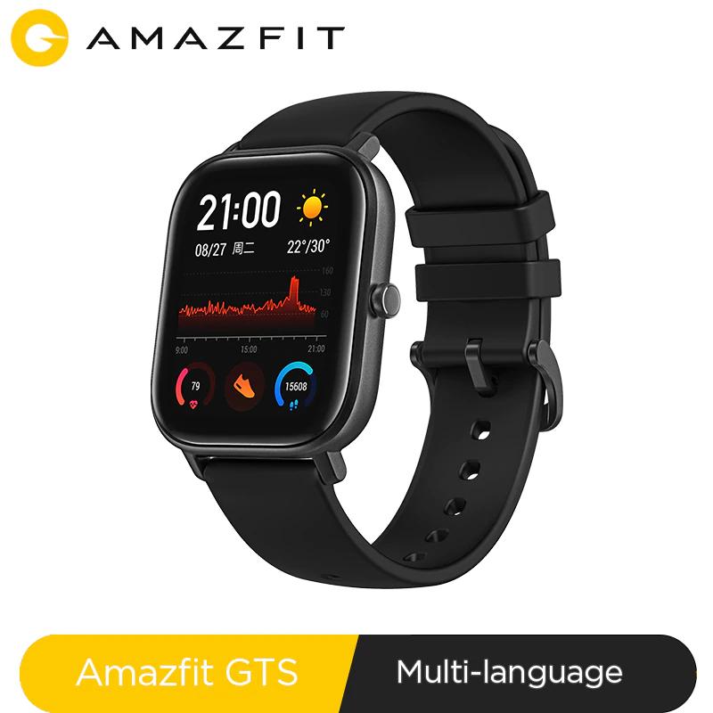 Montre connectée Xiaomi Amazfit GTS (Via coupon vendeur - 115,51€ avec le code FRENCHDAYS et coupon vendeur)