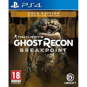 [Précommande] Tom Clancy's Ghost Recon Breakpoint Gold Edition sur PS4 ou Xbox One