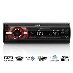 Autoradio Philips CE133 - 4x22W USB / SD (via ODr de 15€)