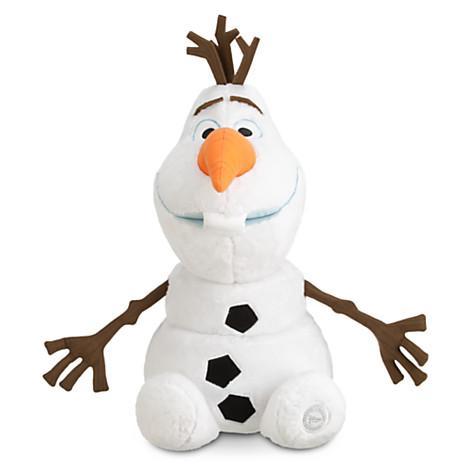 Sélection de grandes peluches Disney - Ex : Peluche Olaf