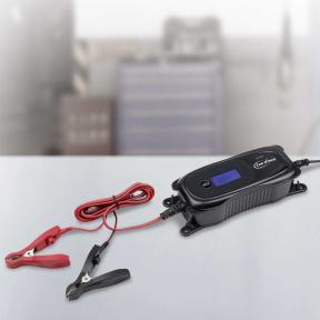 Chargeur Batterie Auto 12V et Moto 6V avec arrêt automatique