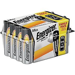 Lot de 24 piles alcalines Energizer - Modèles au choix (Via 2.95€ sur la carte fidélité)