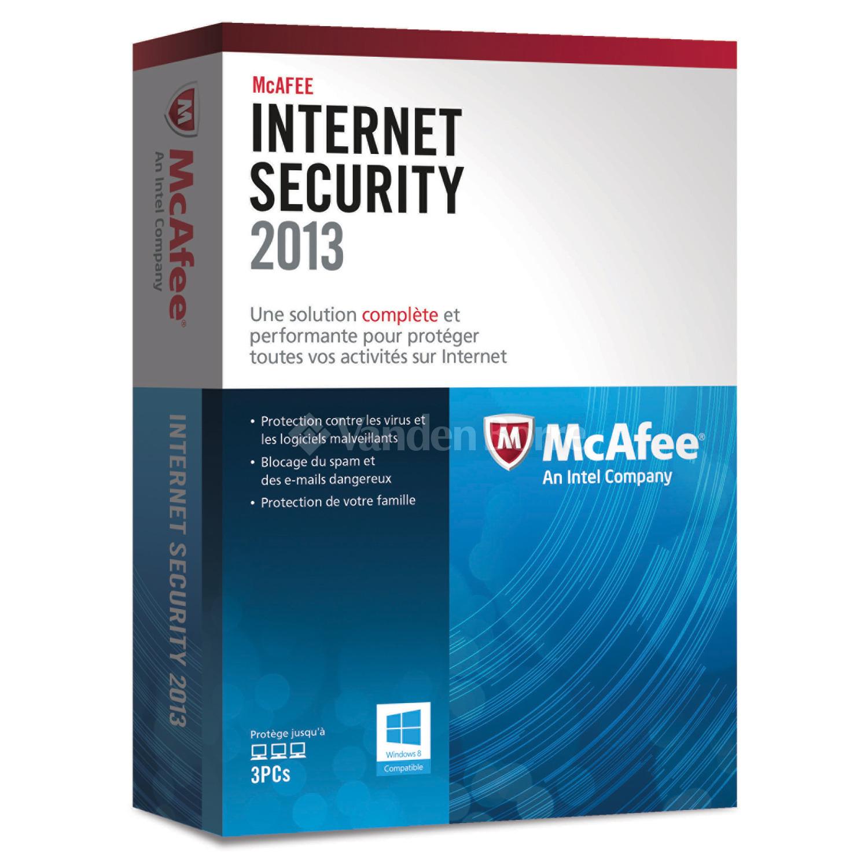 McAfee Internet Security gratuit pendant 6 mois
