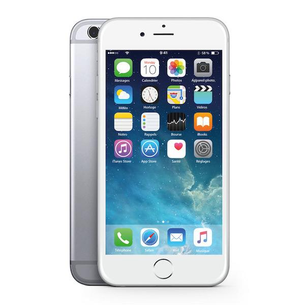 """Smartphone 4"""" Apple iPhone 6 (Reconditionné A+) - 16Go (Via 80€ sur carte fidélité)"""