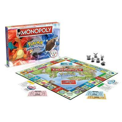 Jeu de société Monopoly Pokemon (Version Française)