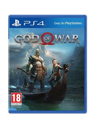 God of War sur PS4 (en anglais)