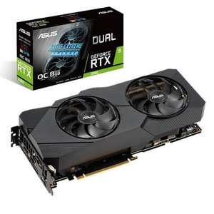 Carte Graphique Asus Dual GeForce RTX 2080 EVO OC - 8 Go