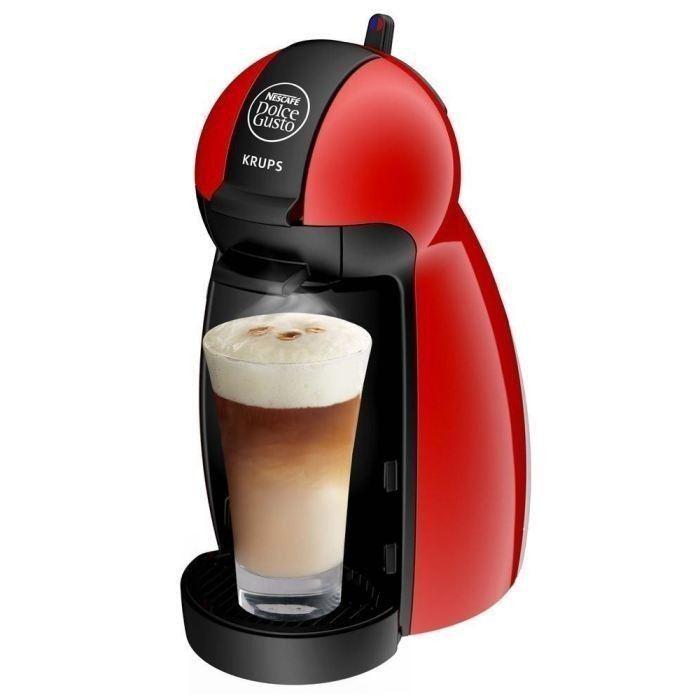 Machine à café Expresso Krups Nescafé Dolce Gusto Piccolo - Rouge