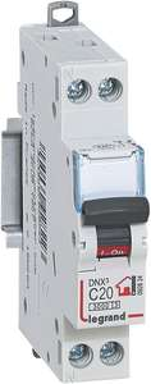 Sélection de Disjoncteur en promotion - Ex: Disjoncteur Legrand DNX³ 3000 LEG92824 Circuit Breaker Unipolar / Neutral 230 V 20 A