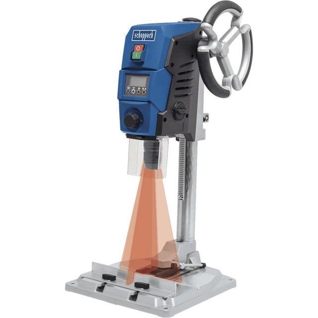 Perceuse à colonne Scheppach DP40 - 710W, Laser & LED