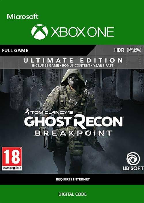 Tom Clancy's Ghost Recon Breakpoint Ultimate Edition sur Xbox One (Dématérialisé)